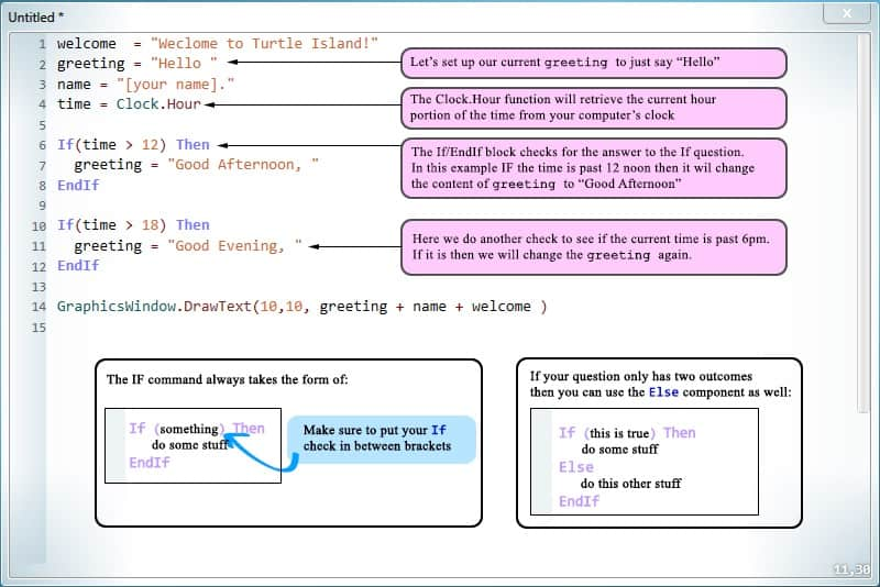 Code examples of loops.