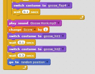 A group of Scratch blocks.