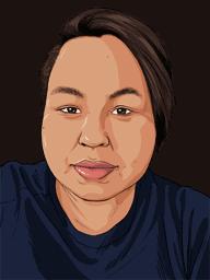 portrait of Talia Metuq