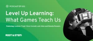 Level Up Learning header