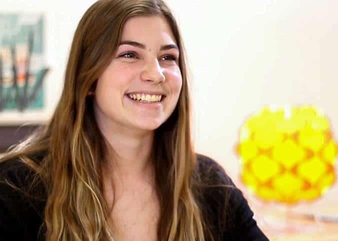 Algonquin College student Sophie Lecour.