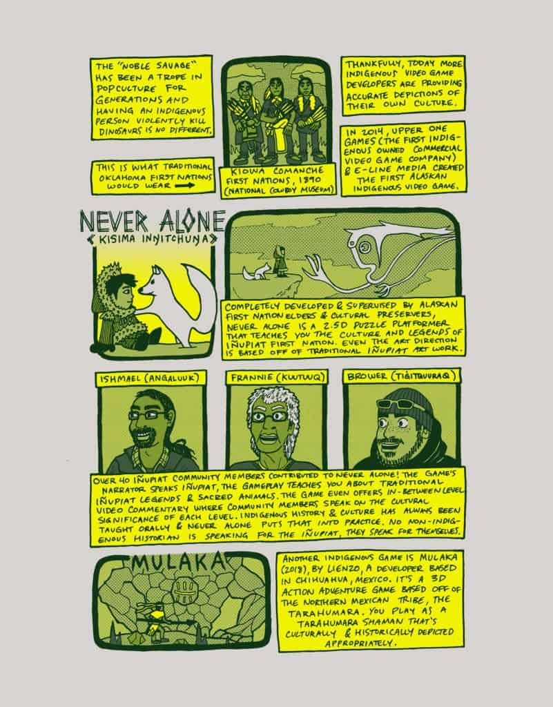 "Page 3 of Cole Pauls' ""Just Like Us"" comic."