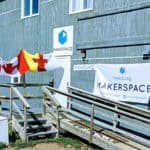 The Iqaluit Makerspace front entrance.
