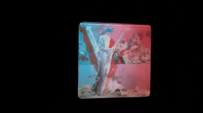 A still from Tim Burton's Lost Vegas exhibition.