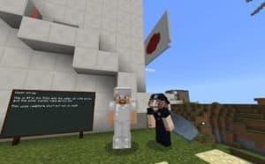 A screenshot of Minecraft.