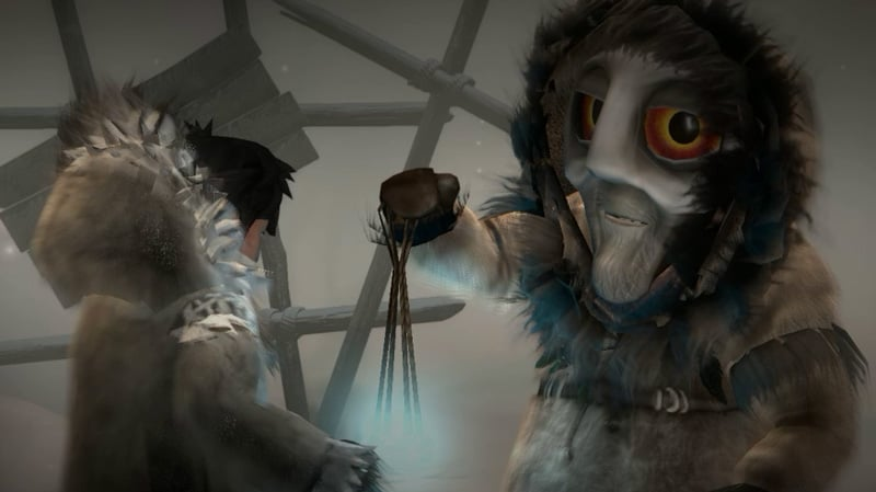 A still from the game Never Alone.