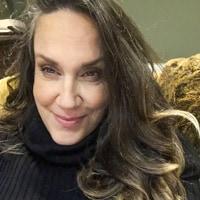 A portrait of Brenda Romero.