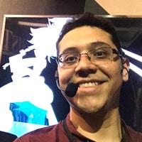 A portrait of Carlos Rocha.