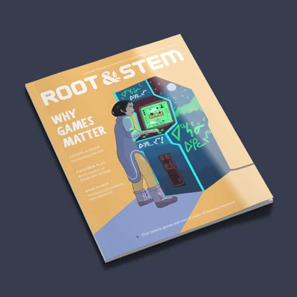 A print copy of the third issue of Root & STEM.