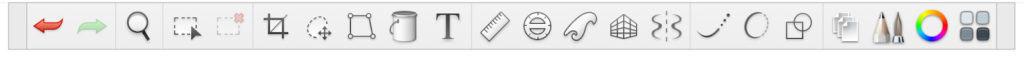 Autodesk toolbar screenshot.